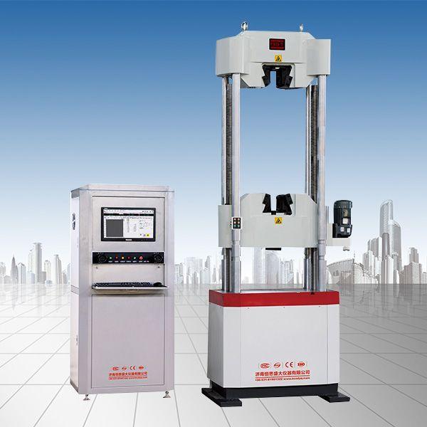 WAW-600/600KN电液伺服钢绞线试验机